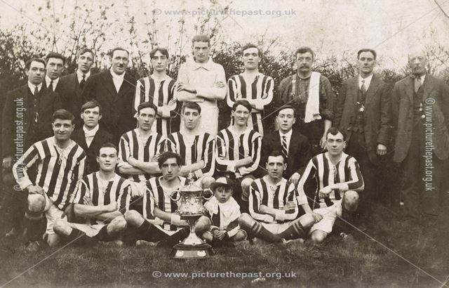 South Normanton Colliery Football Club, South Normanton, 1922