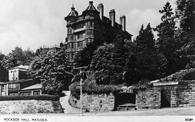 Rockside Hydro, Cavendish Road, Matlock, c 1920