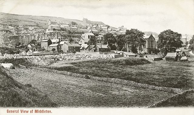 General View of Middleton-by-Wirksworth, c 1905