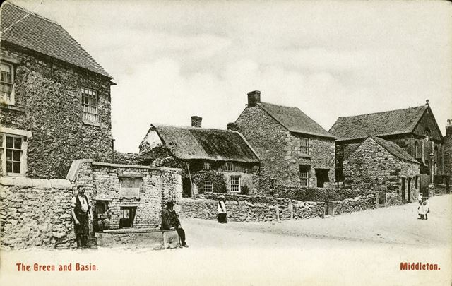 The Green, Middleton-by-Wirksworth, c 1907