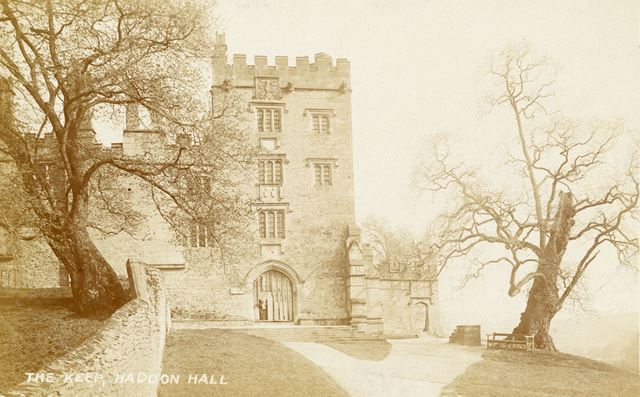 The Keep or Stone Gate House, Haddon Hall, Bakewell, c 1910