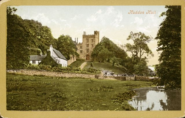 Haddon Hall and The Cottage, Bakewell, c 1910