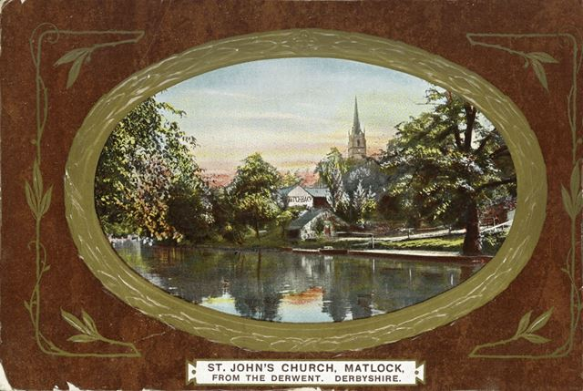 St John's Church, South Parade, Matlock Bath, c 1905
