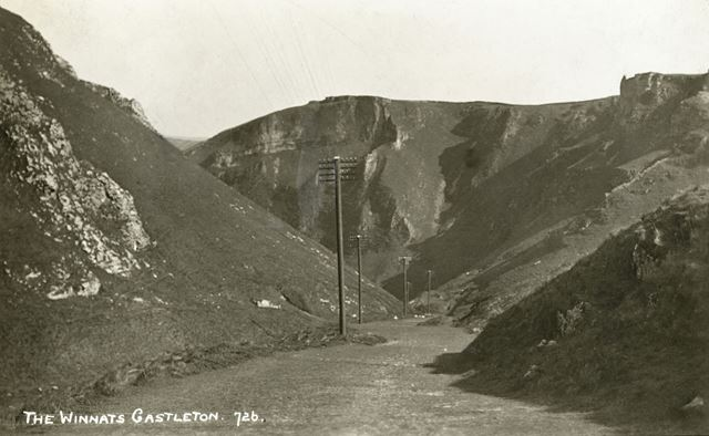 Winnats Pass, Castleton, c 1925