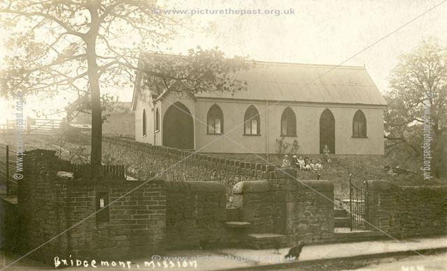 Bridgemont Mission Hall, Bridgemont, c 1919