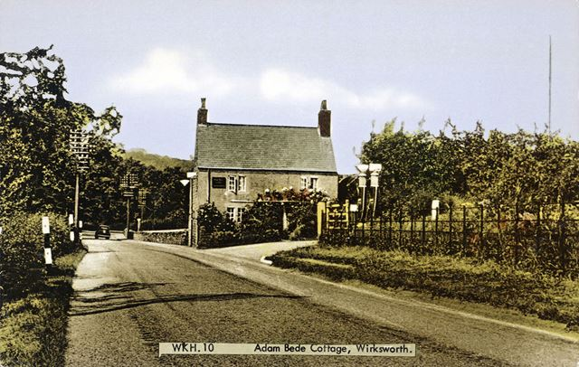 Adam Bede's Cottage, Derby Road, Wirksworth, c 1950