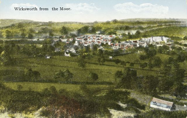 Wirksworth from Wirksworth Moor, c 1910s