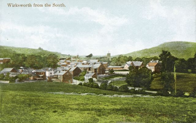 Wirksworth from the South, c 1910s