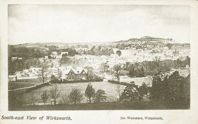 Wirksworth from the South East, c 1903