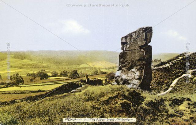The Alport Stone, Alport Heights, Spout, c 1950s