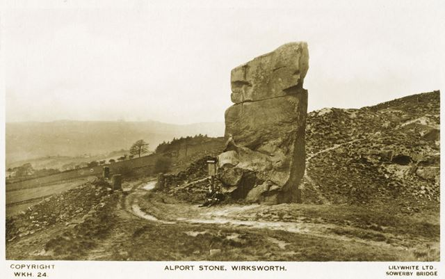 The Alport Stone, Alport Heights, Spout, c 1920s