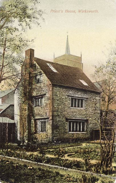 Priests House, off St. Mary's Gate, Wirksworth, c 1900s