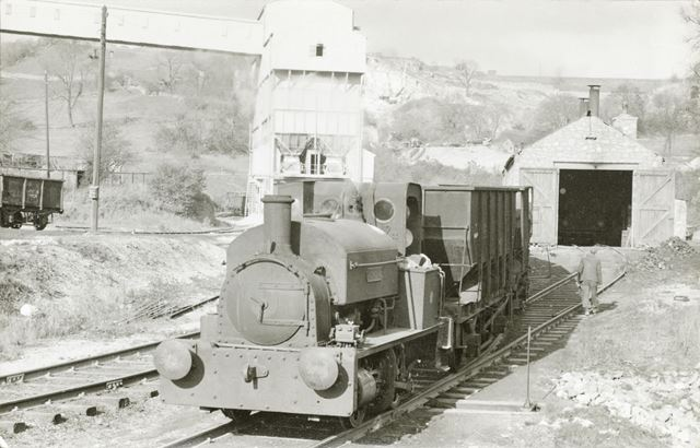 0-4-OST No.3 'Howell' Engine, at Cromford Road Sidings, Wirksworth, c 1950s