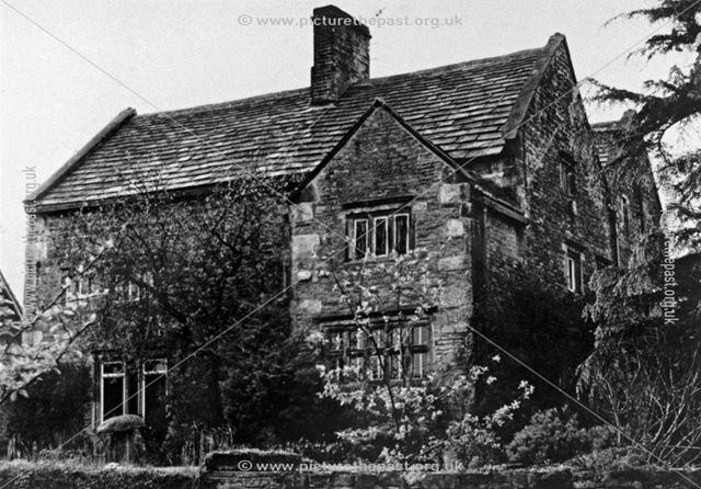 Hipper Hall, Holymoorside, Chesterfield, c 1950s ?