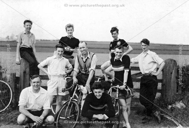 Bolsover Cycling Club, c 1950s