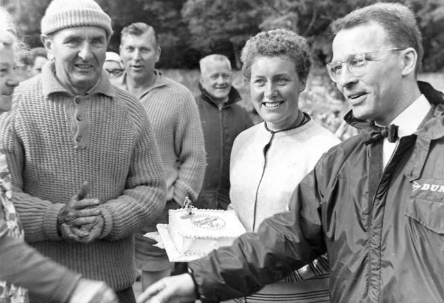 Beryl Burton- Best All-Round Women's Cyclist, 25 Mile Championships, Bolsover, c 1950s
