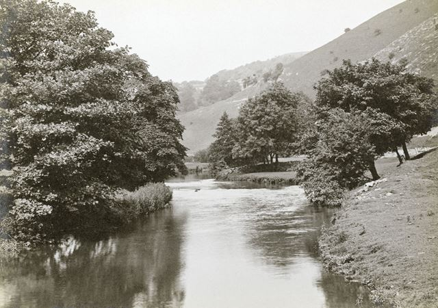 River Wye at Monsal Dale, c 1920s?
