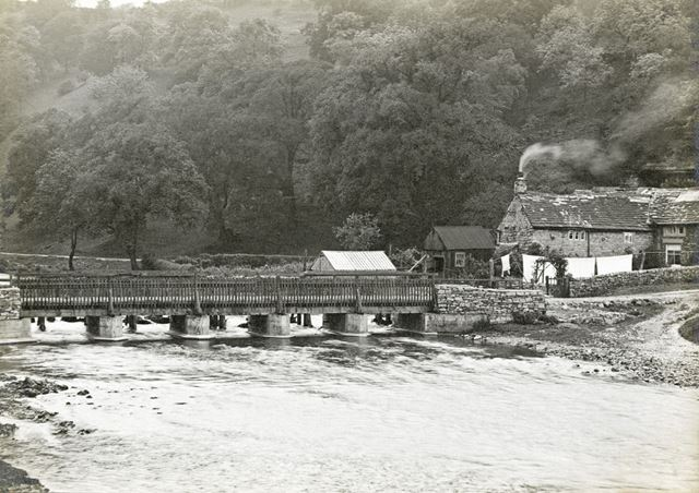 Bridge over the River Wye, Monsal Dale, c 1920s?