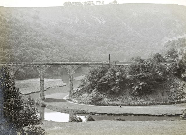 The Viaduct, Monsal Dale, c 1920s?