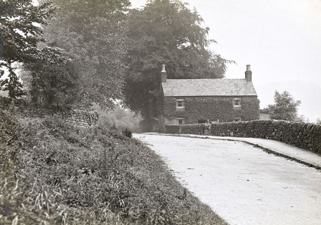 Top of Bullbridge Hill, Ambergate, c 1910s?