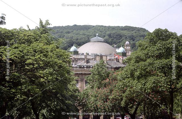 Dome of The Devonshire Royal Hospital, Devonshire Road, Buxton, c 1977