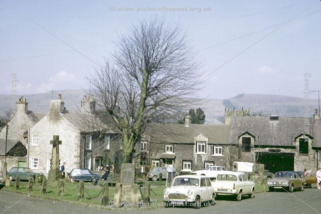 Market Place, Castleton, Hope Valley, 1972