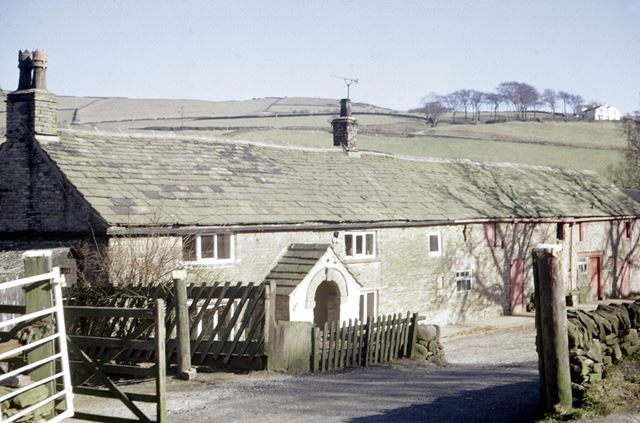 Farm at Meg Lane, Sutton, Macclesfield, Cheshire, c 1980s