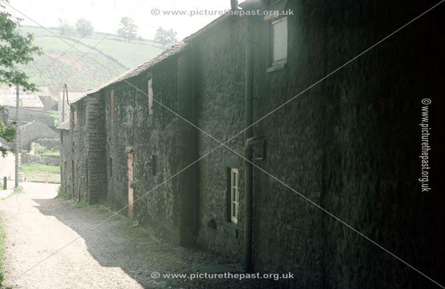 Rear of 'Long House', Chelmorton, Buxton, 1976
