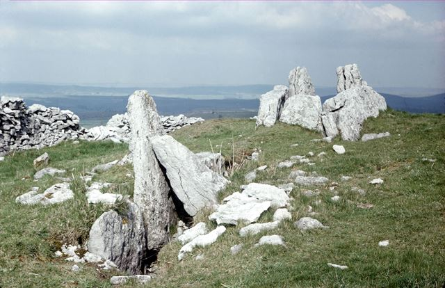Five Wells Megalith Tomb, Taddington, Buxton, 1976