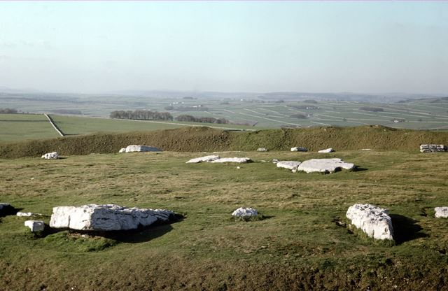 Arbor Low Stone Henge, Middleton Common, Middleton by Youlgreave, 1976