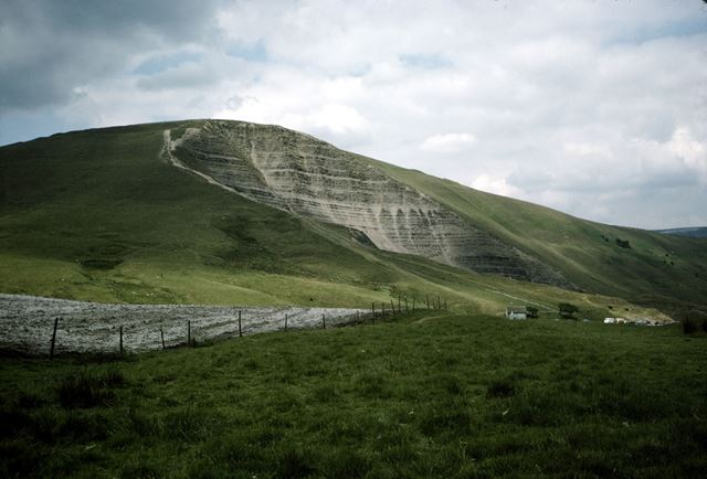 Mam Tor, Castleton, Hope Valley, c 1980s