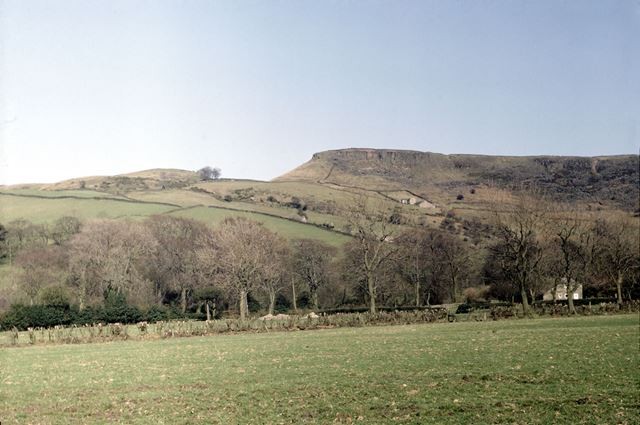 Iron Age Camp, Castle Naze, Combs, High Peak, 1984