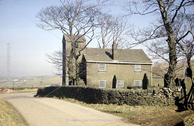 St John the Baptist's Chapel, Saltersford, Rainow, Maccesfield, Cheshire, 1973