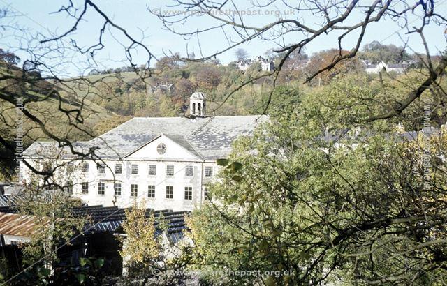 Cressbrook Mill, Monsal Dale, Buxton, 1975