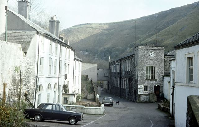 Litton Mill, Miller's Dale, Buxton, 1975