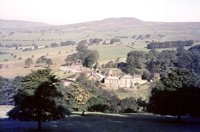 Ford Hall, Chapel-en-le-Frith, High Peak, 1963