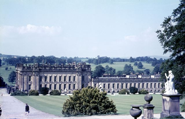 Chatsworth House, Chatsworth Estate, Bakewell, 1966