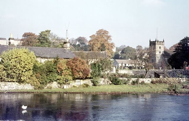 Showing Holy Trinity Parish Church, Ashford in the water, Bakewell, 1971