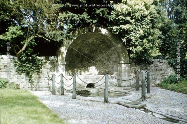 Tissington Hall Well, Tissington, Ashbourne, c 1960s?