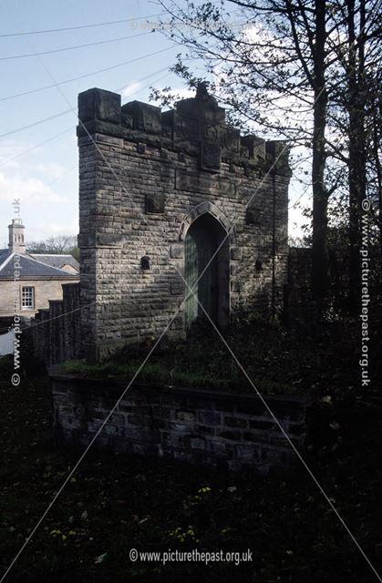 Stodhart Lodge or Farm, Hayfield Road?, Chapel Milton, Chapel-en-le-Frith, c 1980s