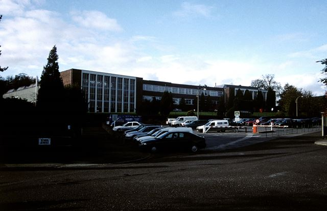 Ferodo Brake Linings Ltd, Hayfield Road, Chapel-en-le-Frith, c 1980s