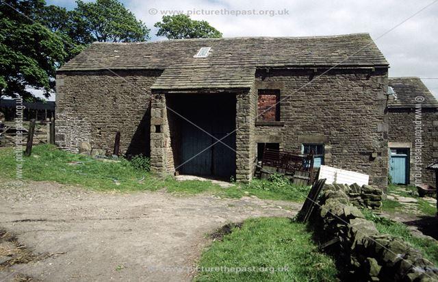 Barn, Shireoaks Farm, Shireoaks, Chapel-en-le-Frith, High Peak, 1997