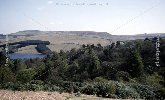 Errwood Reservoir, Goyt Valley, c 1980s