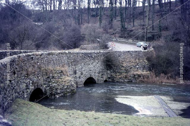 Conksbury Bridge near Youlgreave, c 1980s