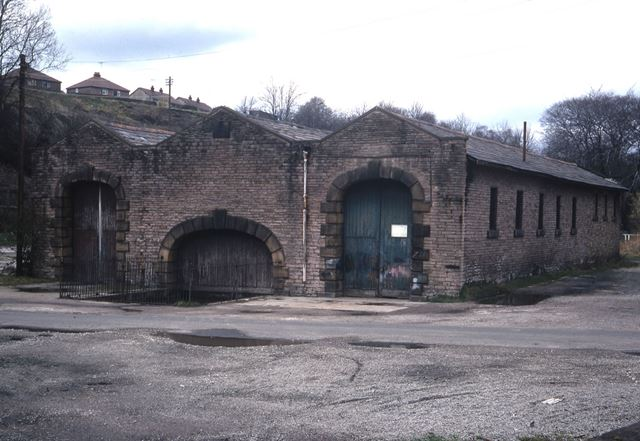 North End of Transit Shed, Cromford and High Peak Railway, 1970s