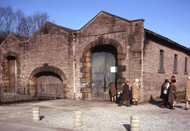 North End of Transit Shed, Cromford and High Peak Railway, 1975