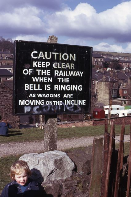 Whaley Bridge Incline, Cromford and High Peak Railway, 1975