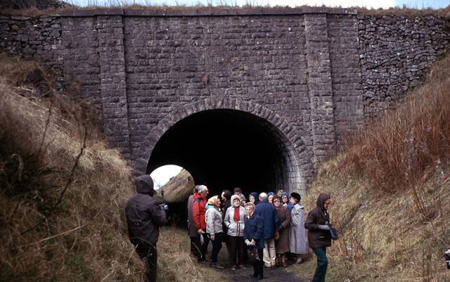 College of Adult Education at Newhaven Road Tunnel of CHPR, Parsley Hay, 1975