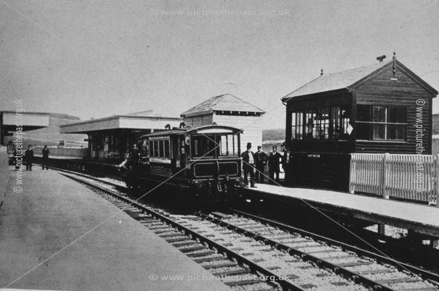 Hartington Railway Station, 1899
