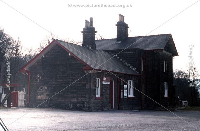 Railway Station, Chapel-en-le-Frith, 1983